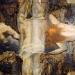 Osudy lidí - varianta, olej,plátno r. 1985, vel. 100/65 cm