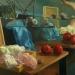 Čaj XIII, olej na plátně, 65x80, r. 2010