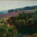 Krajina, olej na plátně, 65x80, r.2013